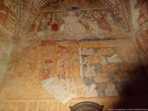 visite guidée église mont-d'astarac route peintures murales Gers