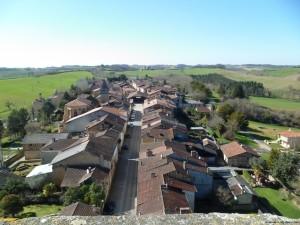 visite guidée Bassoues bastide donjon Gers