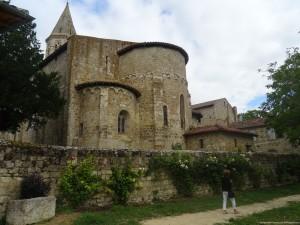 visite guidée Montaut-les-créneaux église romane pittoresque Gers