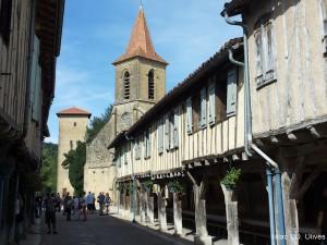 visite guidée Tillac castelnau pan de bois Gers