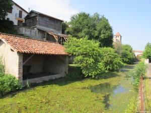 visite guidée insolite patrimoine Riscle lavoir rivière Adour Gers