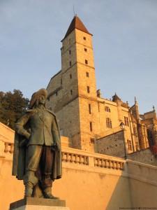 visite guidee Auch escalier monumental d'Artagnan tour d'Armagnac Gers