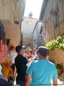 visite guidee Fources castelnau Gers