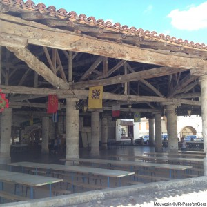 visite guidee Mauvezin bastide halle Lomagne Gers
