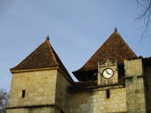 Barbotan porche église Gers