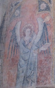 visite guidée église Simorre peinture murale Gers
