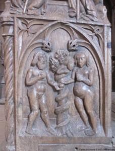 visite guidée église Simorre stalles Gers