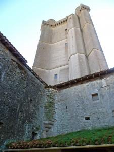 visite guidée donjon Bassoues Gers