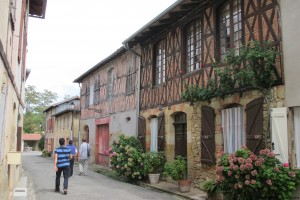 visite guidée pan de bois Simorre Gers