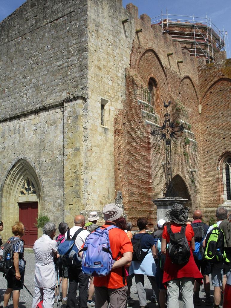visite guidée à Simorre - Gers